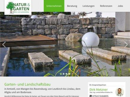 Webdesign von Natur & Garten