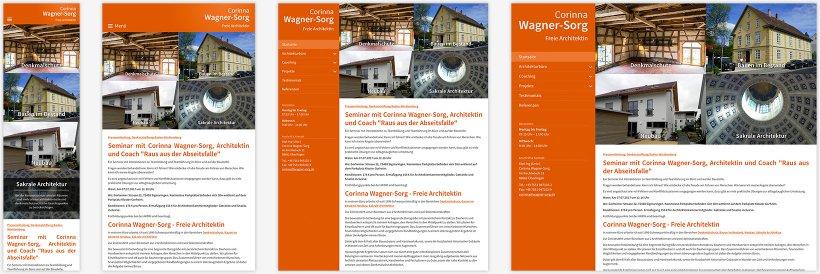 Webdesign von Corinna Wagner-Sorg