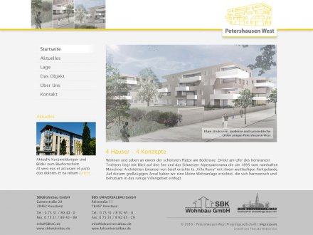 Webdesign von Petershausen West