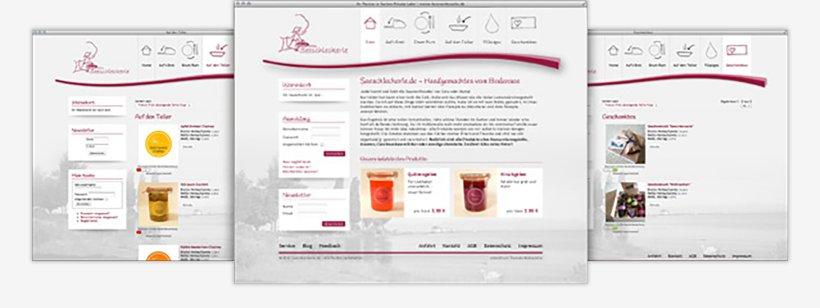 Webdesign von Seeschleckerle