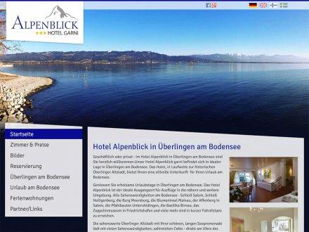 Webdesign von Hotel Alpenblick