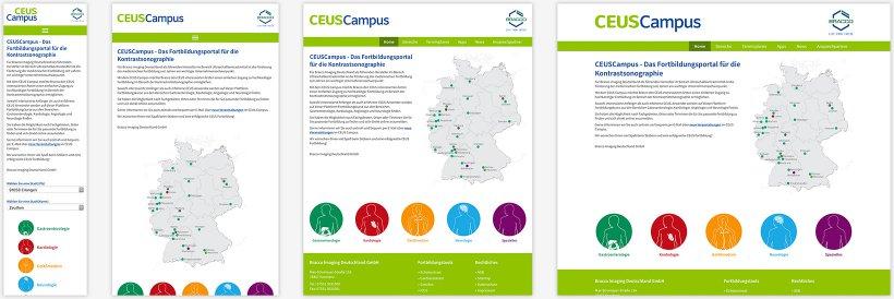 Webdesign von Ceus Campus