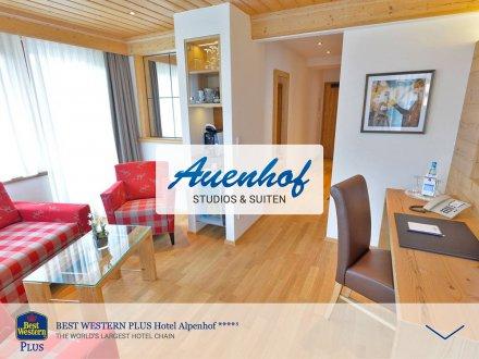 Webdesign von Auenhof Studios & Suiten