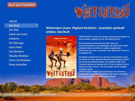 Webdesign von Wüstentanz
