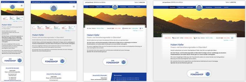Webdesign von Hubert Kefer
