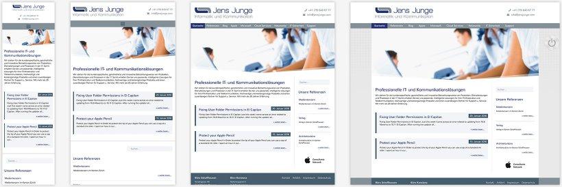 Webdesign von Jens Junge