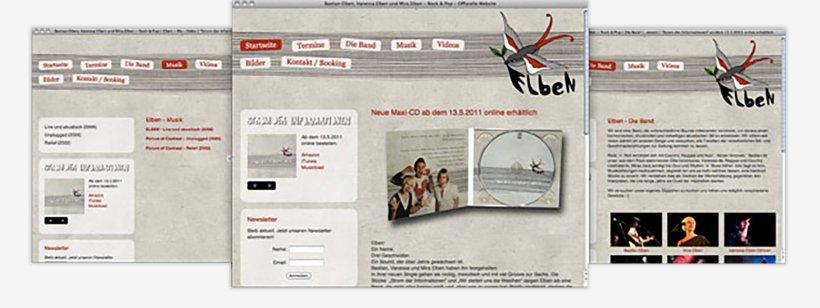 Webdesign von Elben