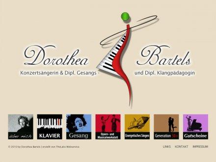 Webdesign von Dorothea Bartels