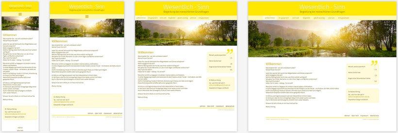 Webdesign von Wesentlich Sinn