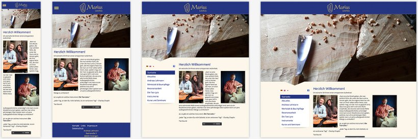 Webdesign von Marius Leierbau