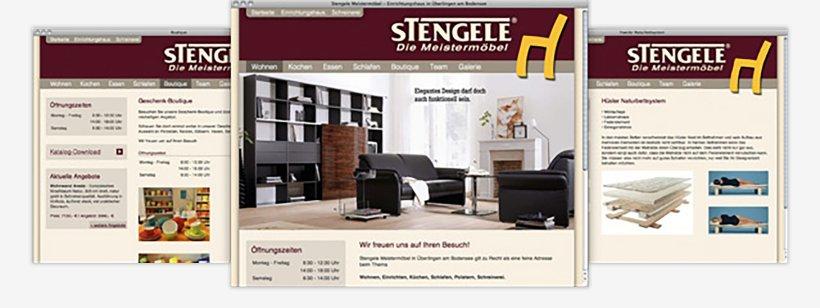 Webdesign von Stengele Meistermöbel